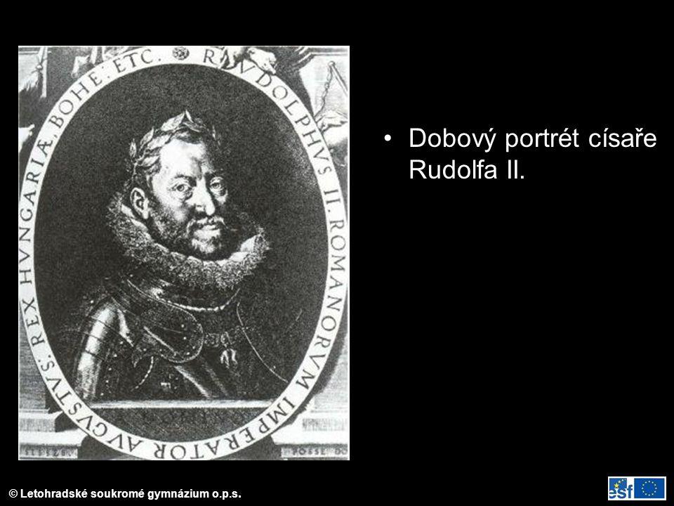 Dobový portrét císaře Rudolfa II.