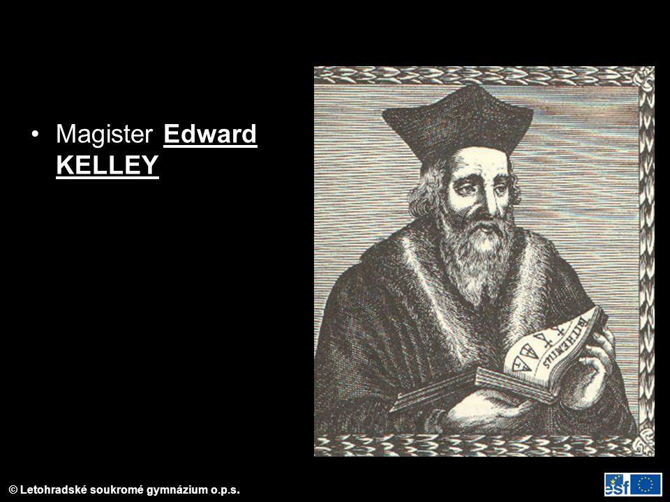 Magister Edward KELLEY