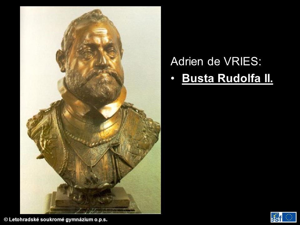 Adrien de VRIES: Busta Rudolfa II.