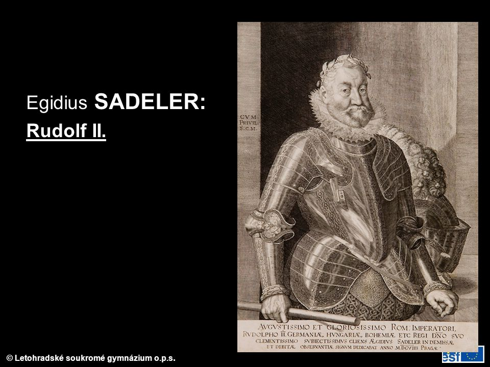 Egidius SADELER: Rudolf II.