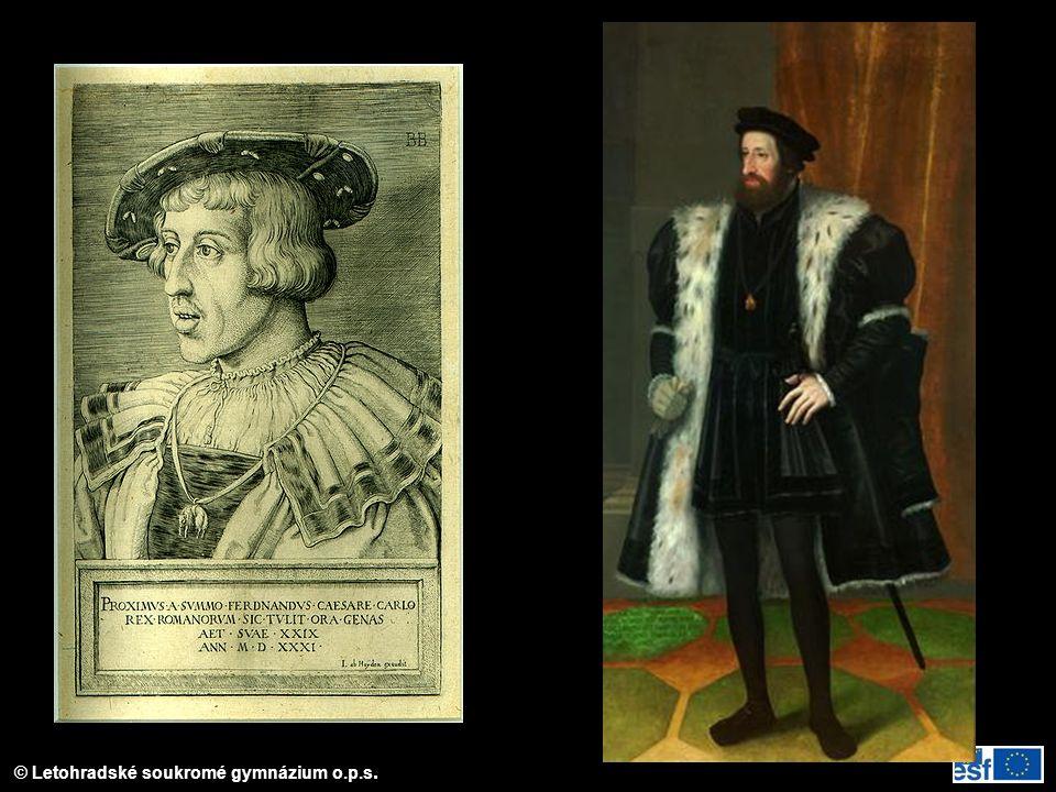 Dobové portréty Ferdinanda I.