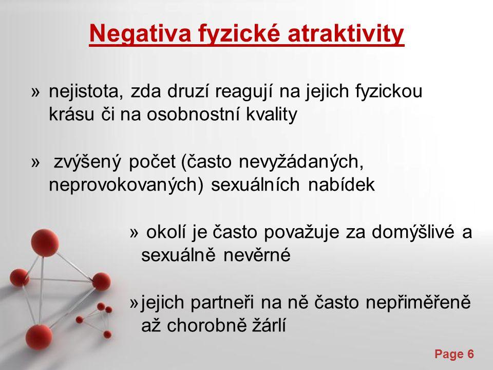 Negativa fyzické atraktivity