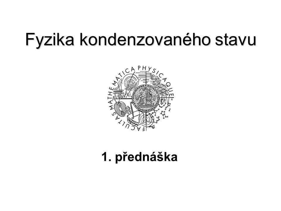 Fyzika kondenzovaného stavu