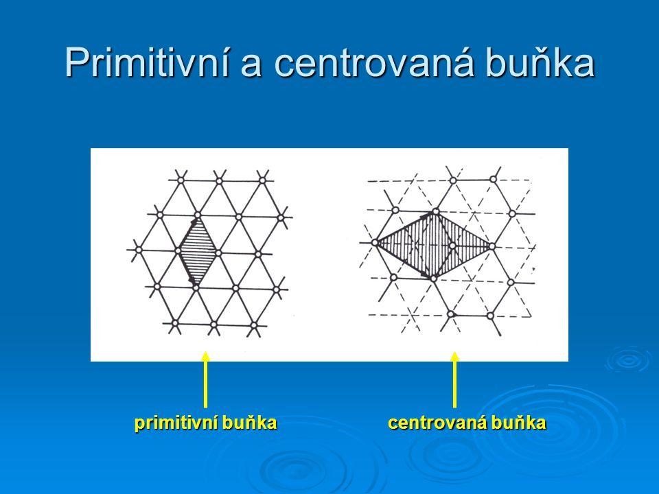 Primitivní a centrovaná buňka