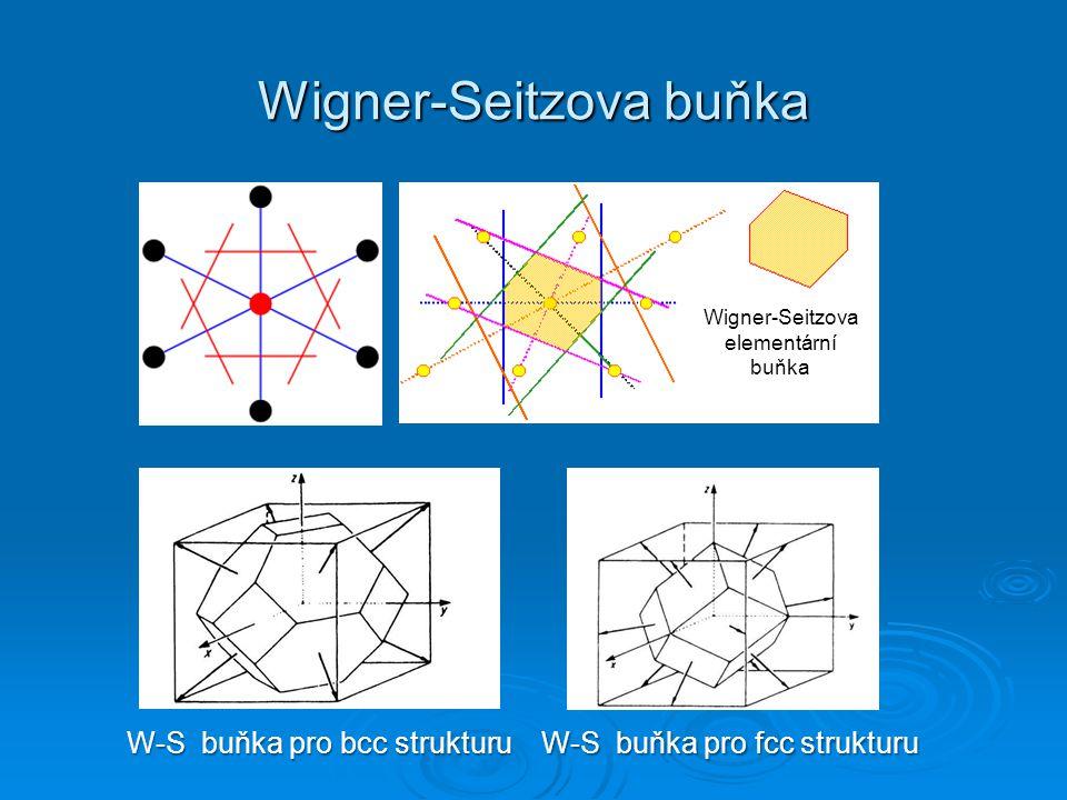 Wigner-Seitzova buňka