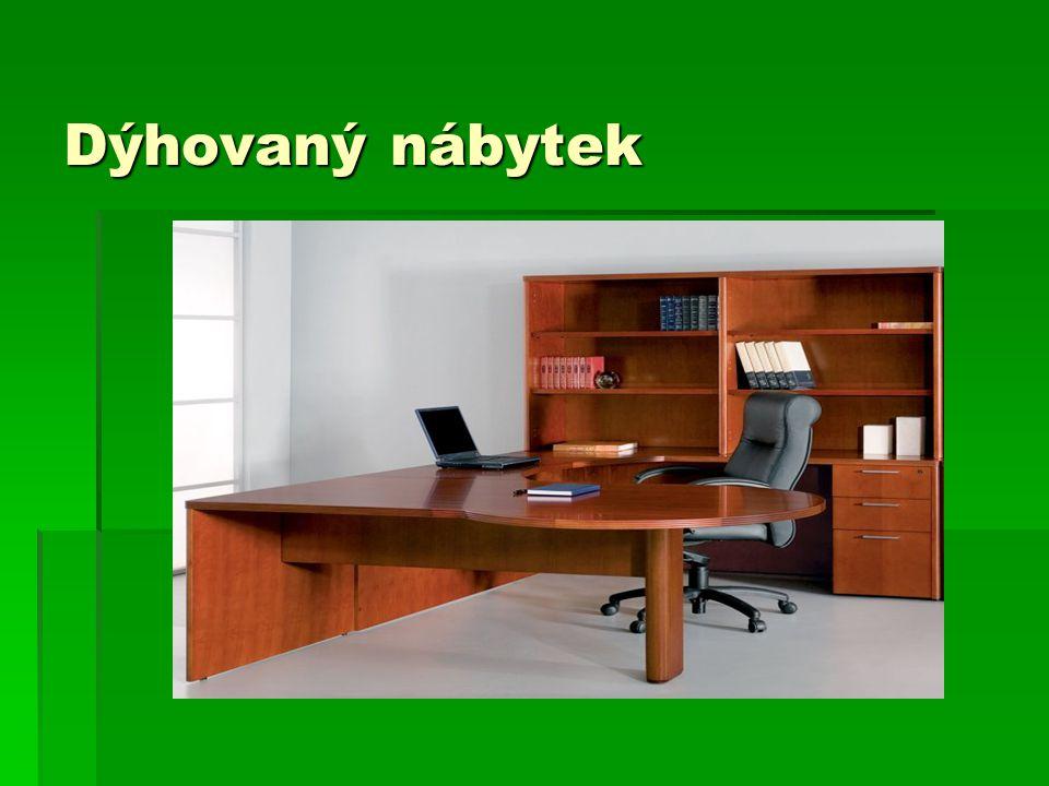 Dýhovaný nábytek