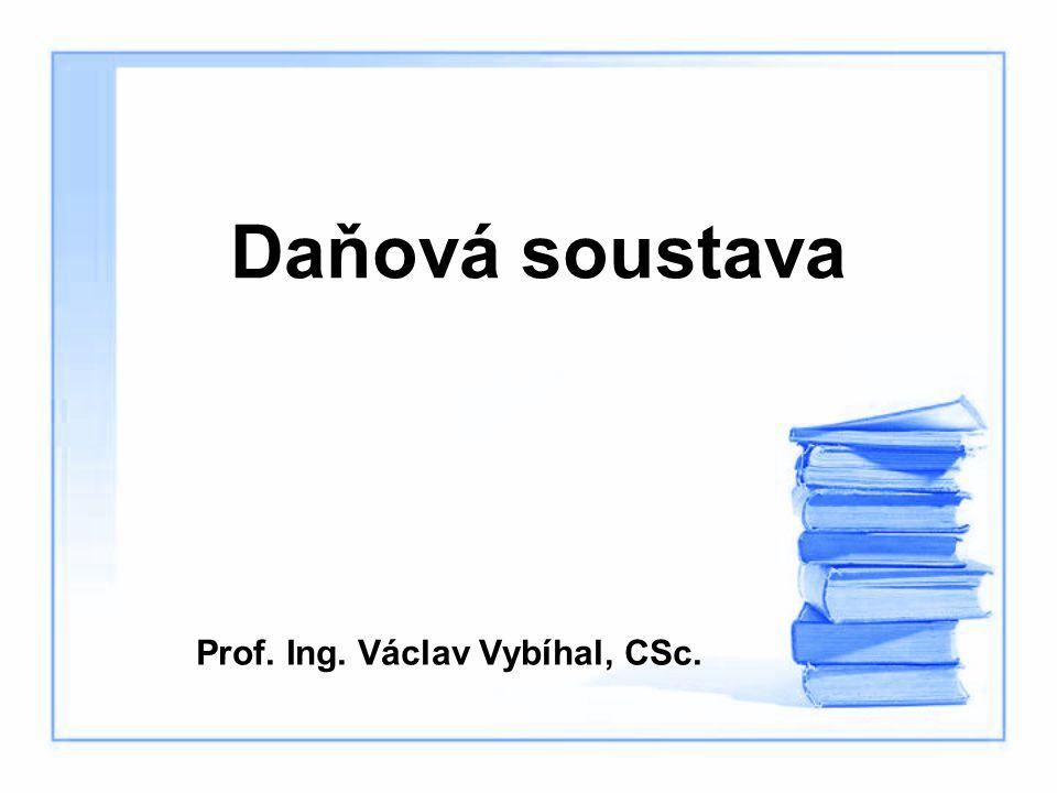 Prof. Ing. Václav Vybíhal, CSc.
