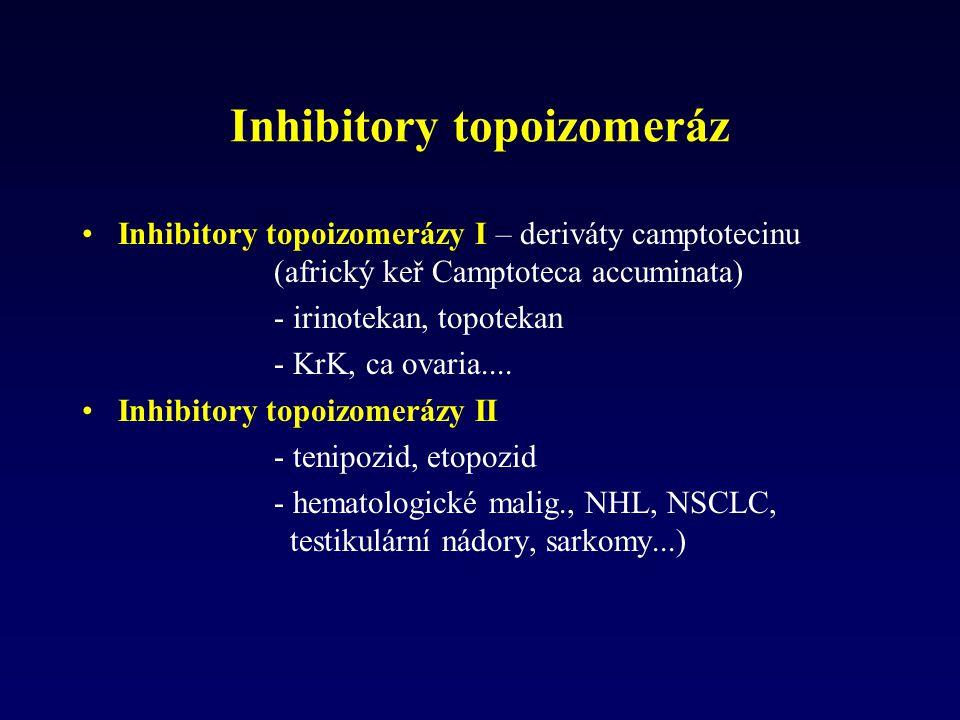 Inhibitory topoizomeráz