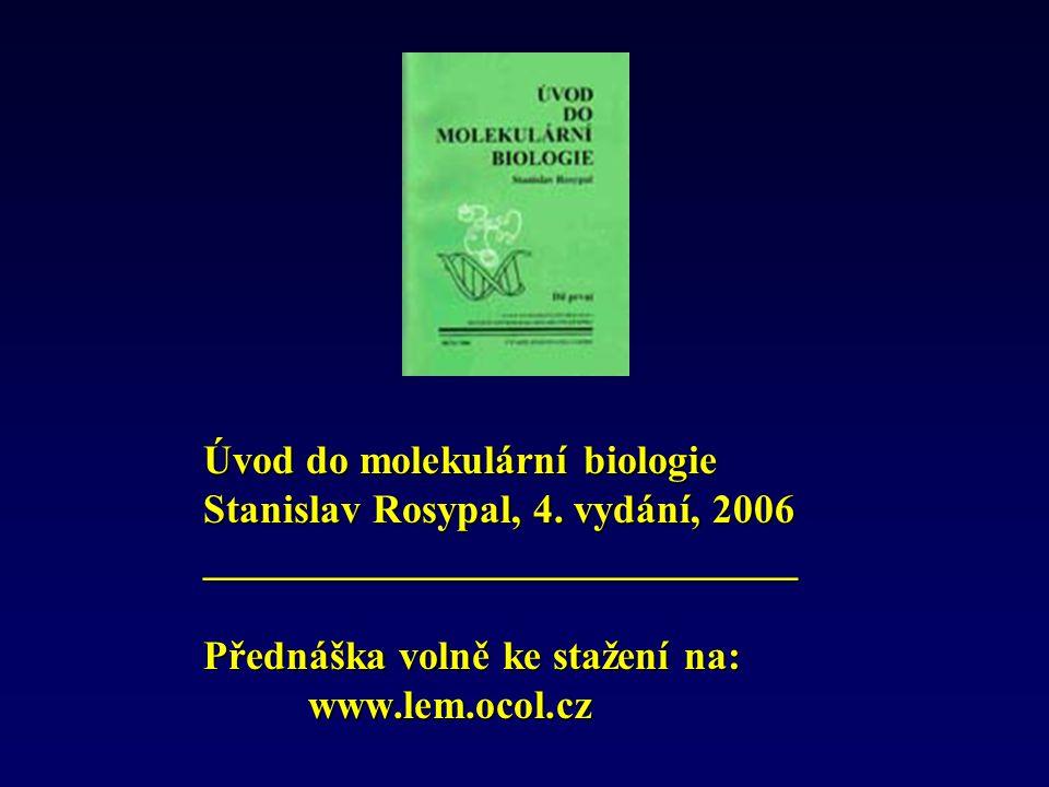 Úvod do molekulární biologie