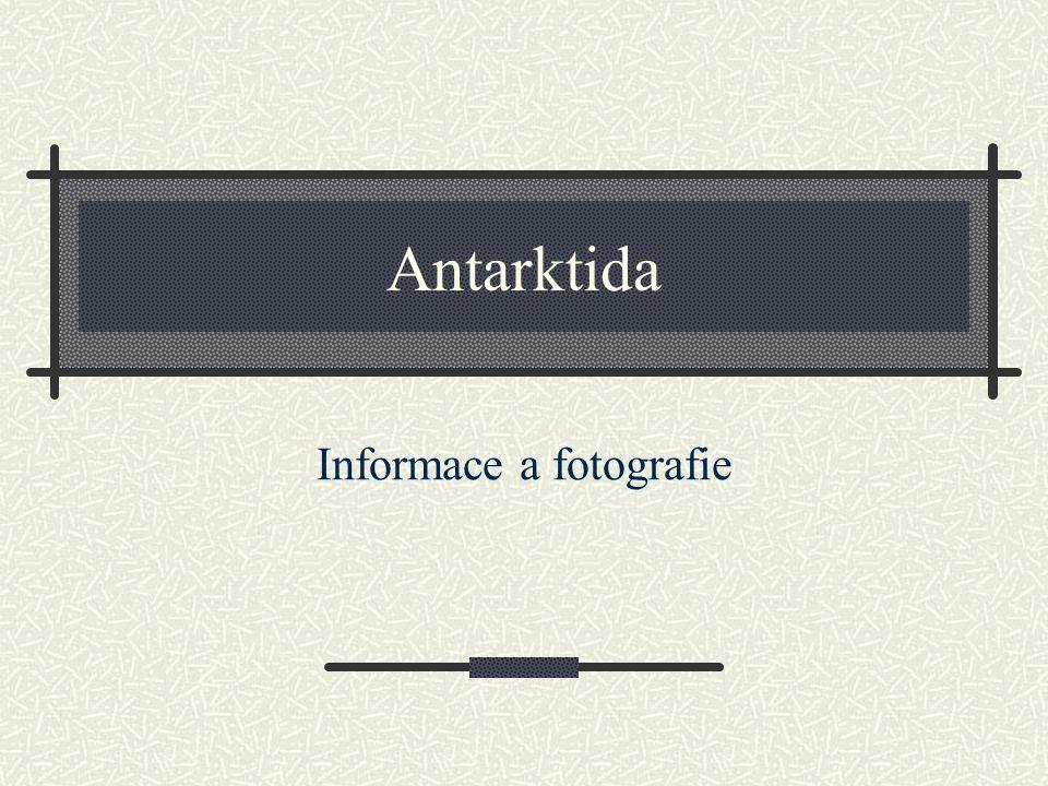 Informace a fotografie