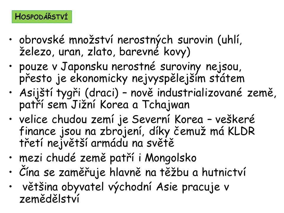 mezi chudé země patří i Mongolsko