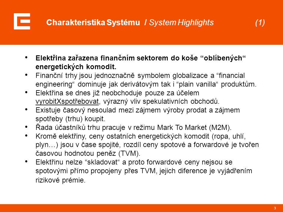 Charakteristika Systému / Základní formy trhů (2)