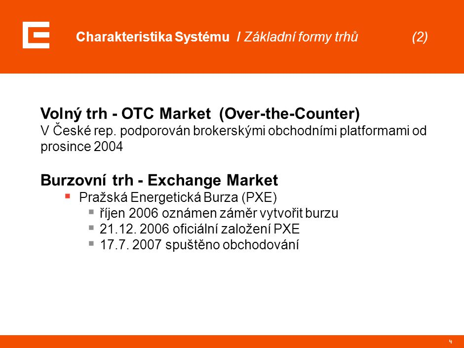 OTC Market (Over-The-Counter)