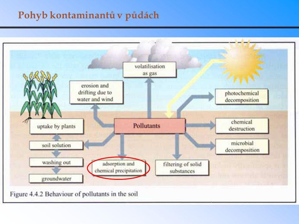 Pohyb kontaminantů v půdách