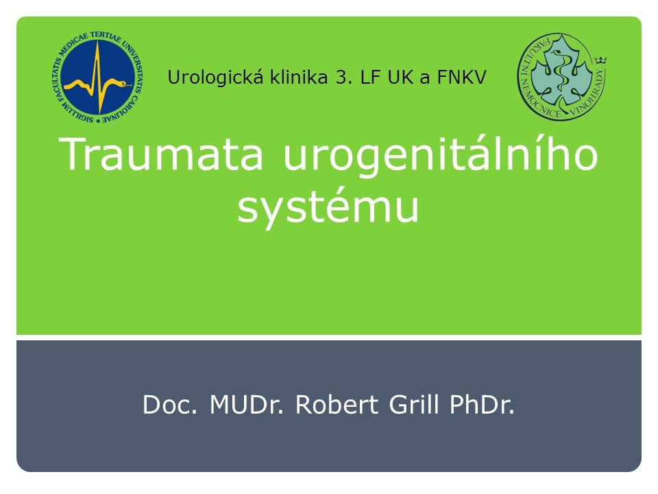 Traumata urogenitálního systému