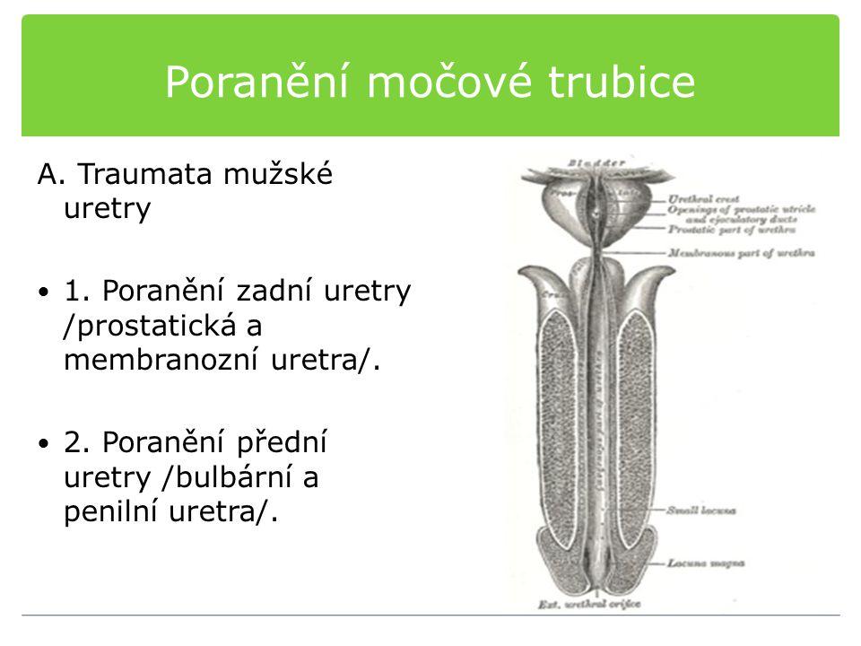 Poranění močové trubice
