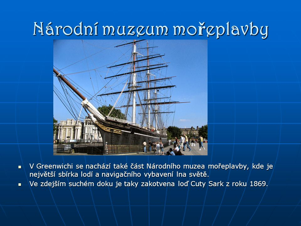 Národní muzeum mořeplavby