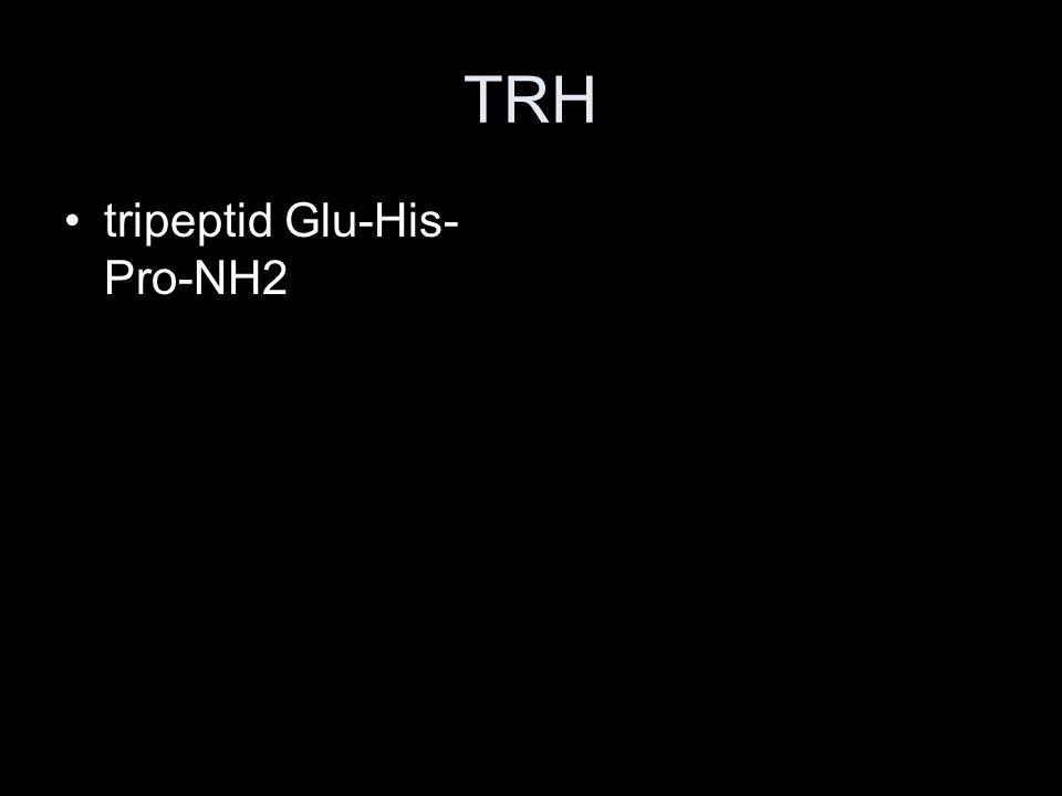 TRH tripeptid Glu-His-Pro-NH2