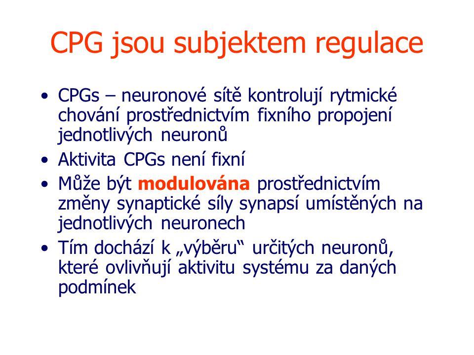 CPG jsou subjektem regulace