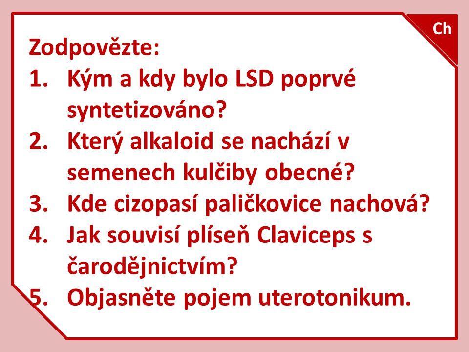 Kým a kdy bylo LSD poprvé syntetizováno
