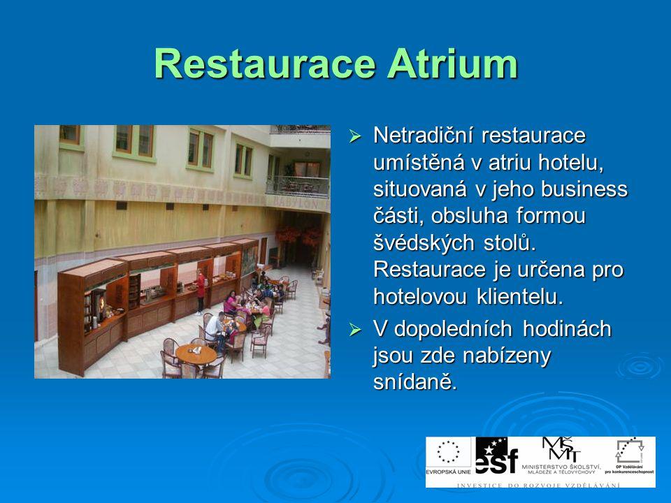 Restaurace Atrium