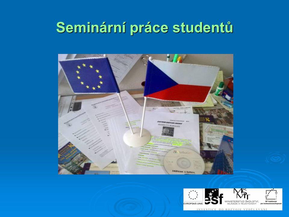 Seminární práce studentů