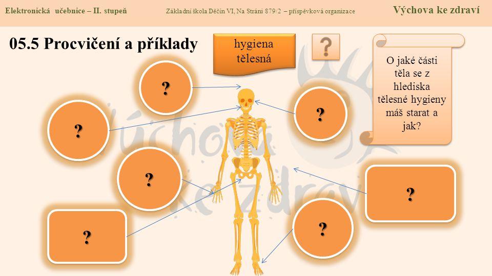 O jaké části těla se z hlediska tělesné hygieny máš starat a jak