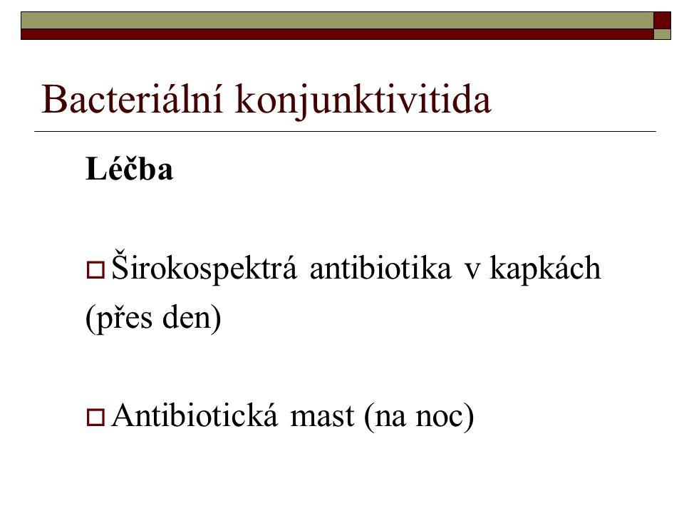 Bacteriální konjunktivitida