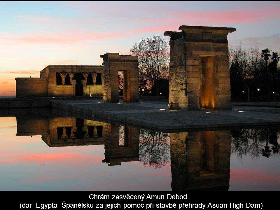Chrám zasvěcený Amun Debod