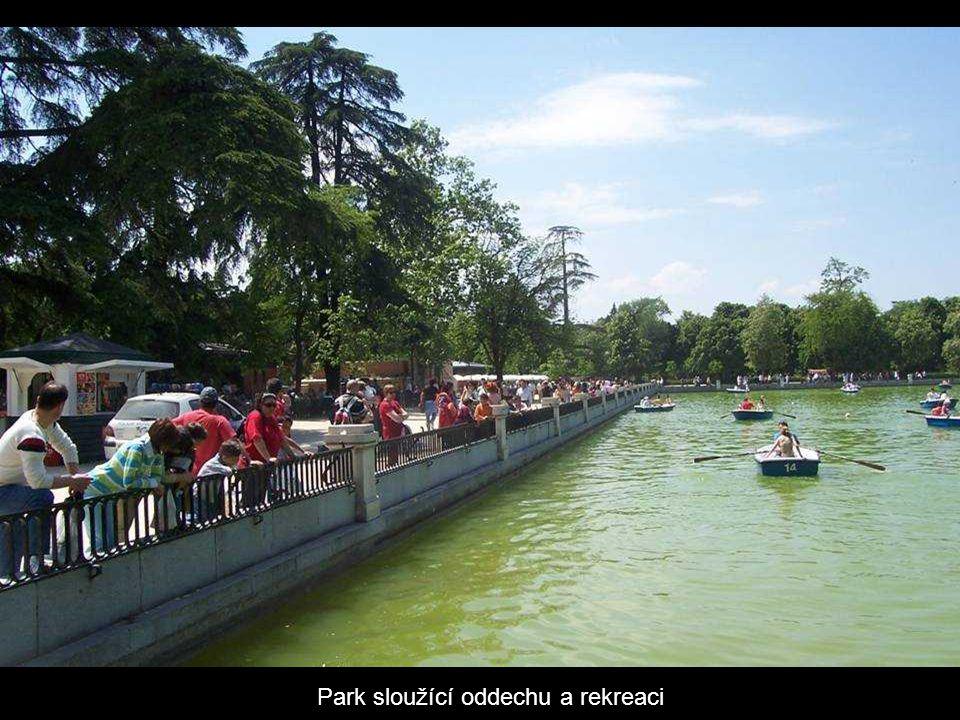 Park sloužící oddechu a rekreaci
