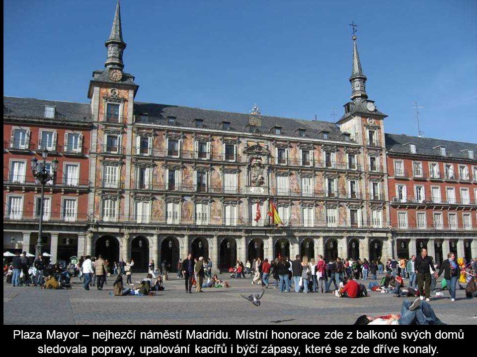 Plaza Mayor – nejhezčí náměstí Madridu