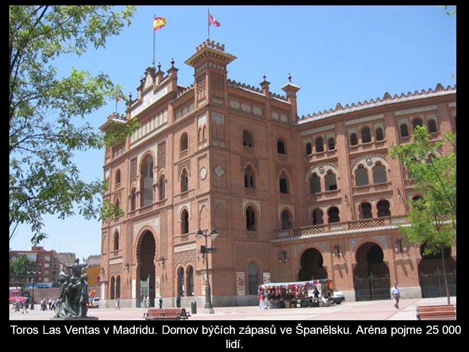 Toros Las Ventas v Madridu. Domov býčích zápasů ve Španělsku