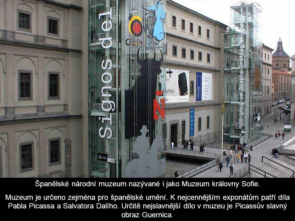 Španělské národní muzeum nazývané i jako Muzeum královny Sofie.