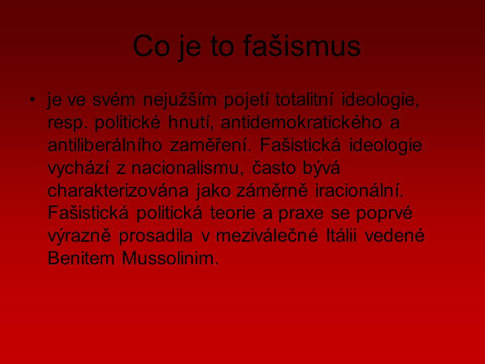 Co je to fašismus