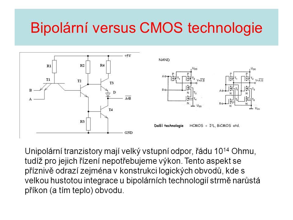 Bipolární versus CMOS technologie
