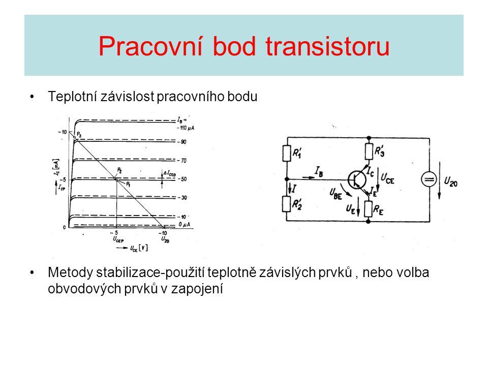 Pracovní bod transistoru