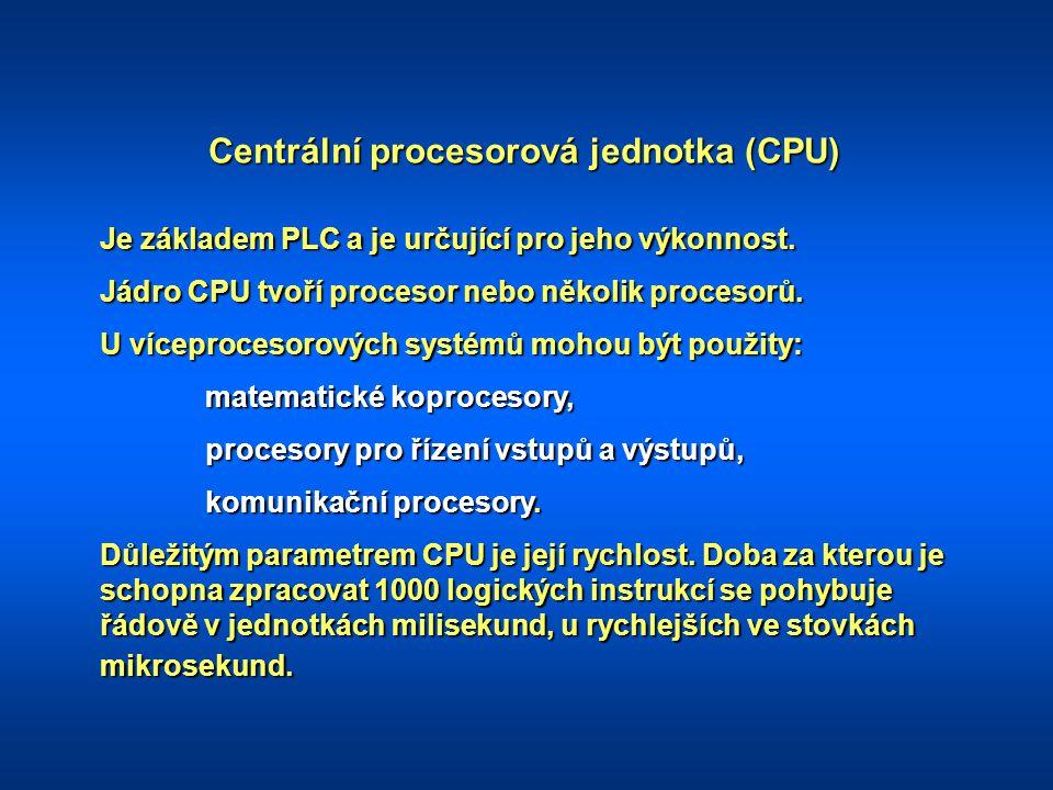 Centrální procesorová jednotka (CPU)