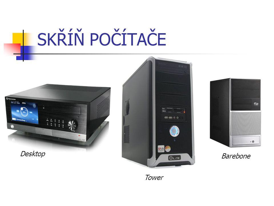 SKŘÍŇ POČÍTAČE Desktop Barebone Tower