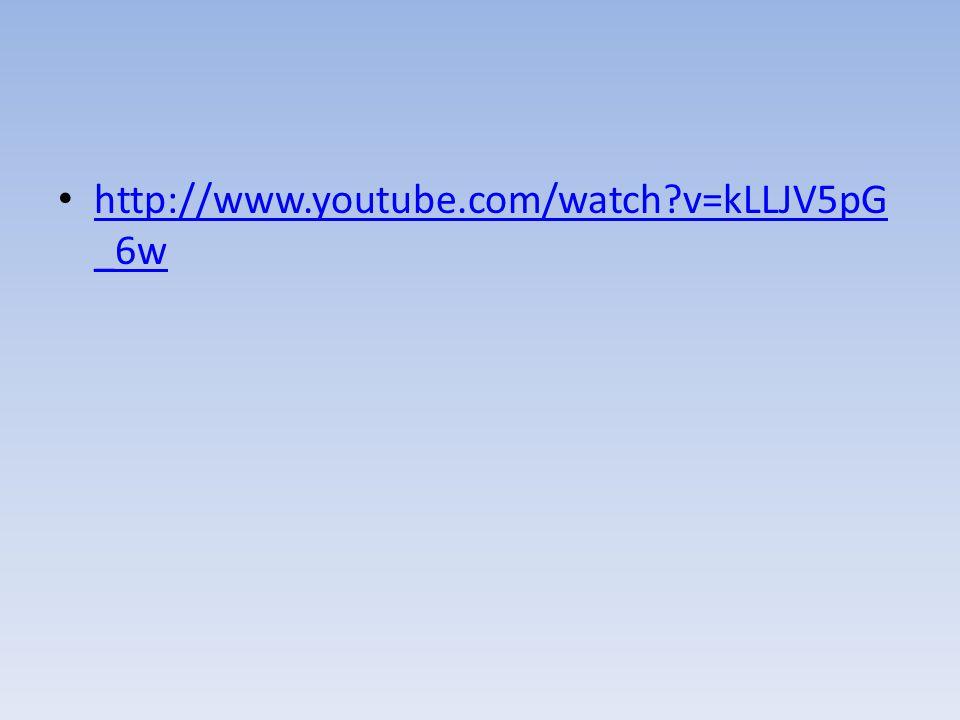 http://www.youtube.com/watch v=kLLJV5pG_6w