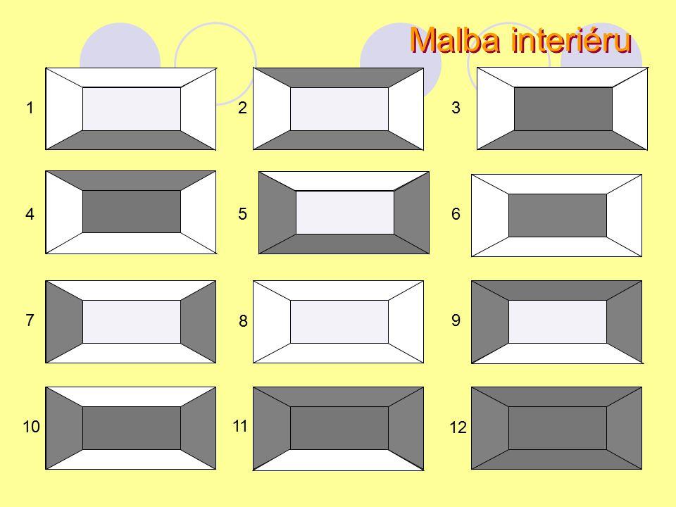 Malba interiéru 1 2 3 4 5 6 7 8 9 10 11 12