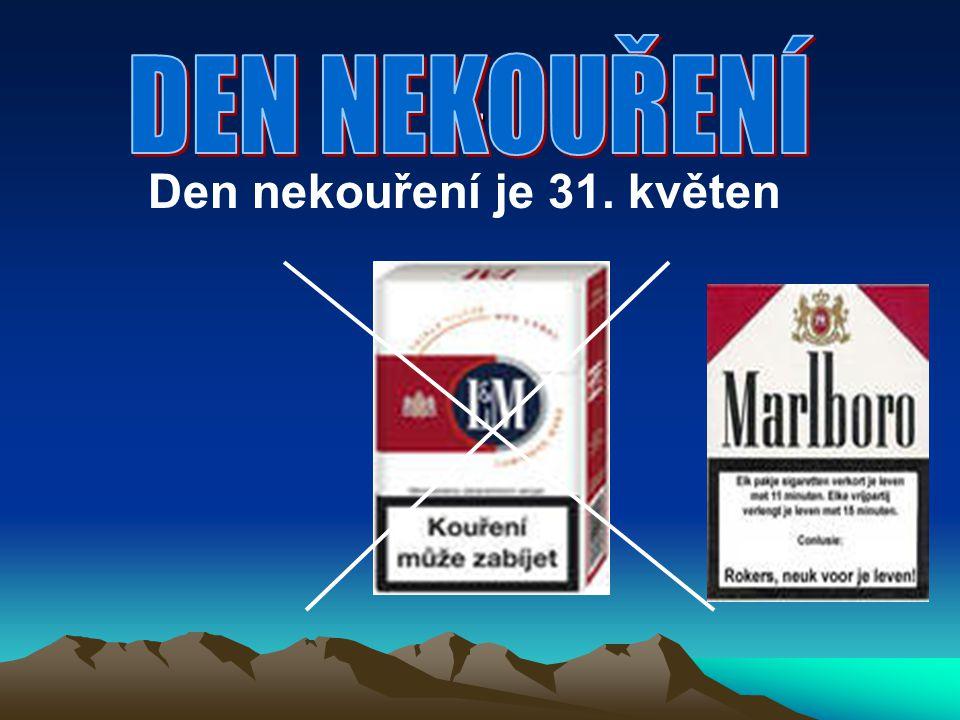 Den nekouření je 31. květen