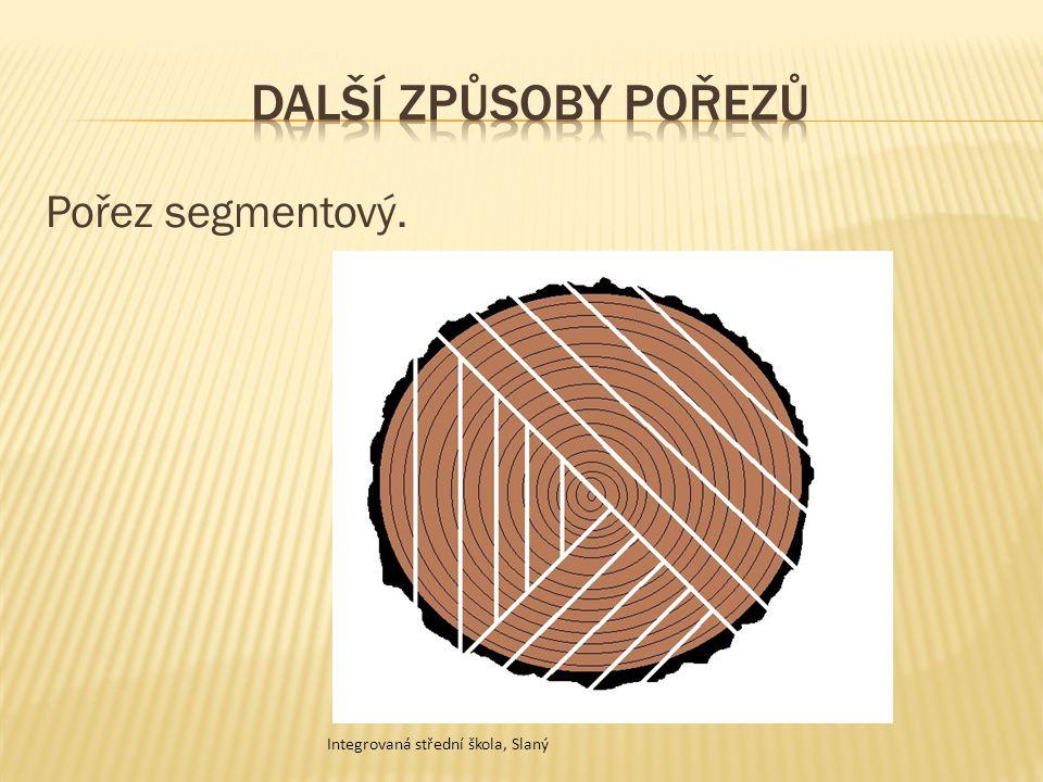 Další způsoby pořezů Pořez segmentový.