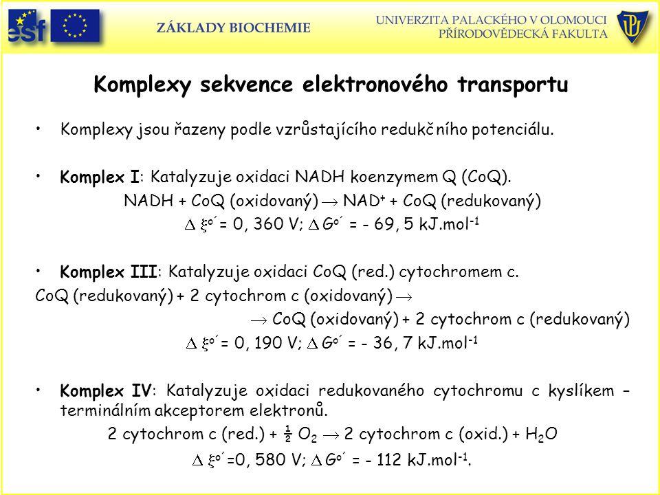 Komplexy sekvence elektronového transportu