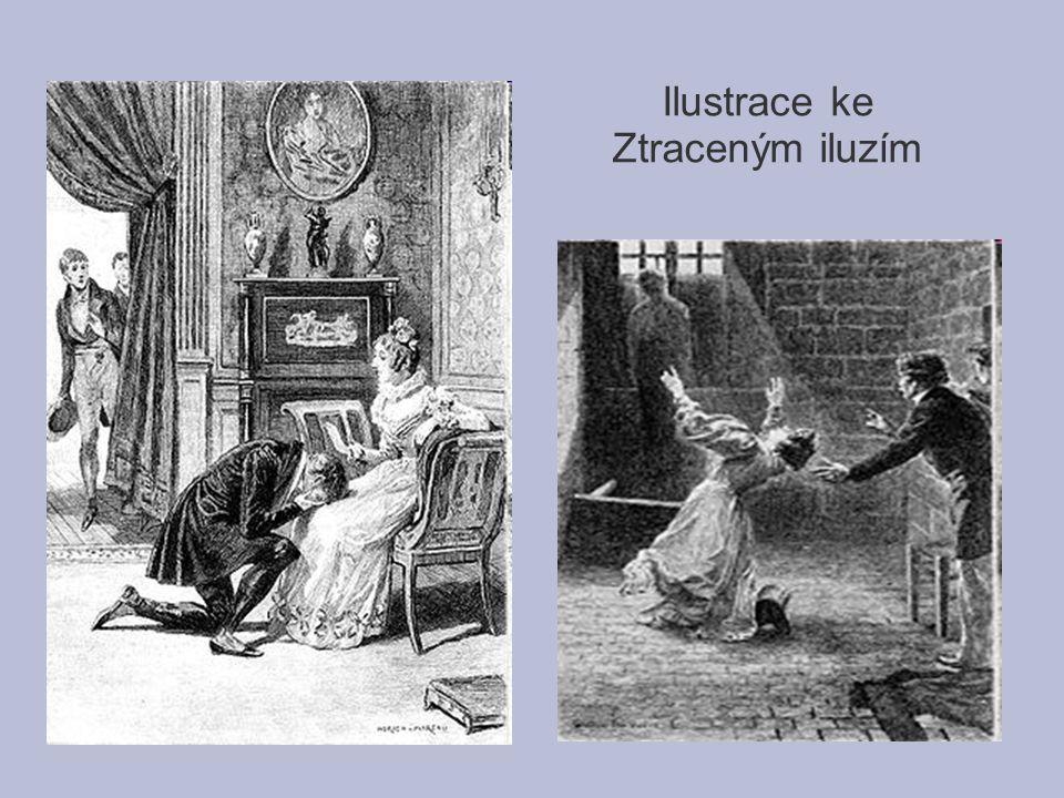 Ilustrace ke Ztraceným iluzím