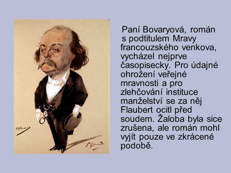 Paní Bovaryová, román