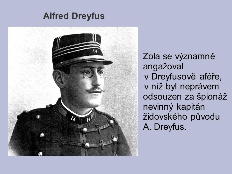 Alfred Dreyfus v Dreyfusově aféře,