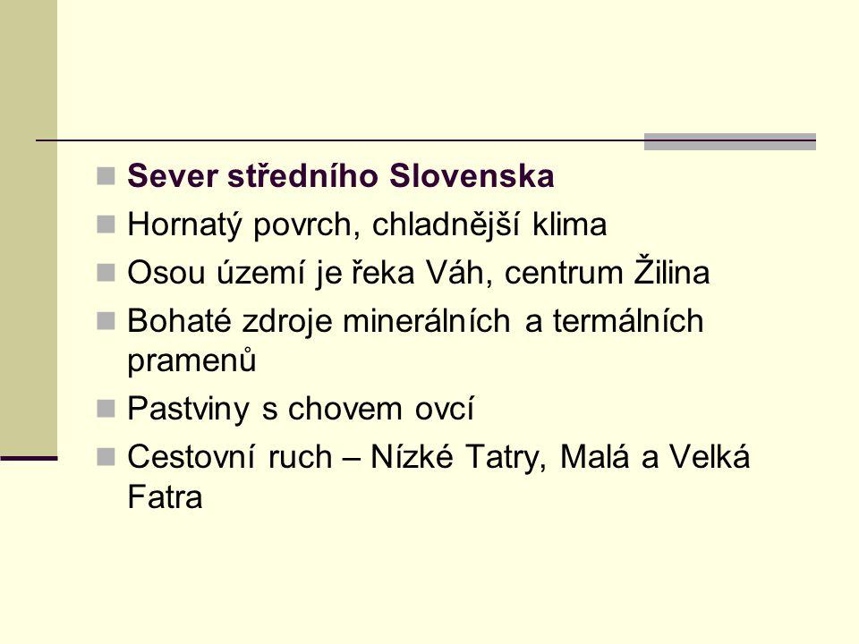 Sever středního Slovenska