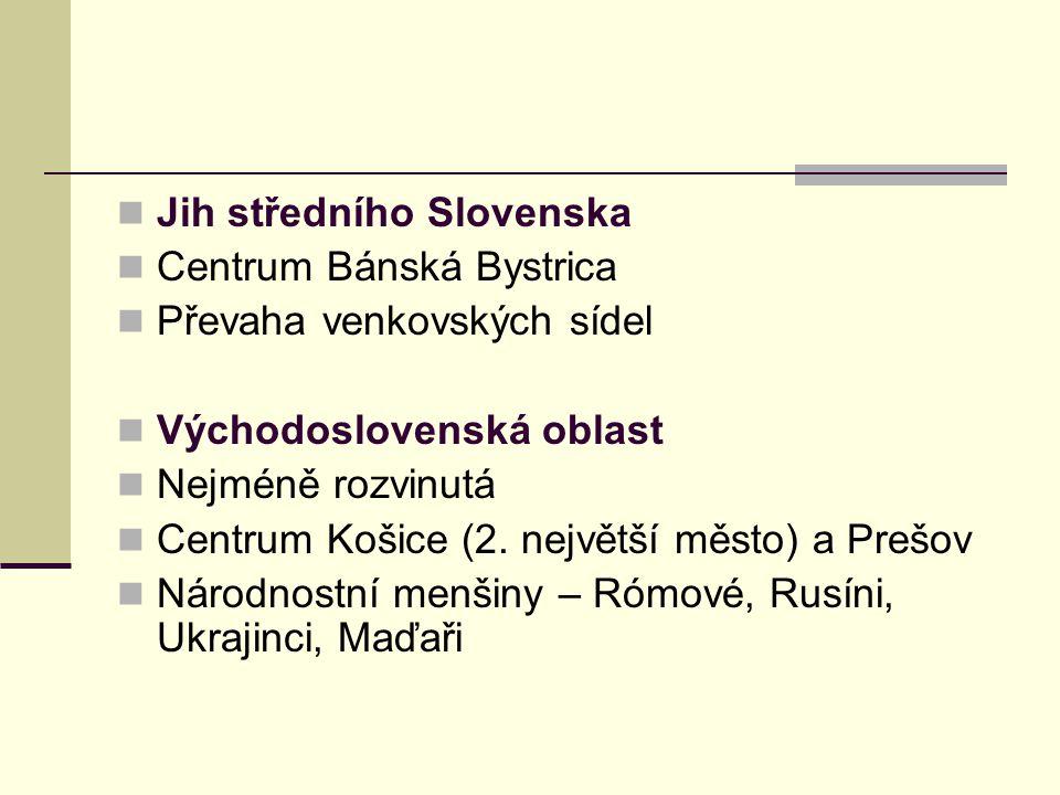 Jih středního Slovenska