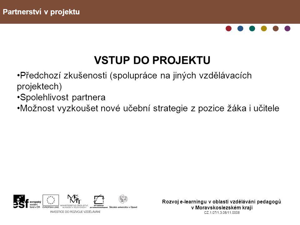 Partnerství v projektu