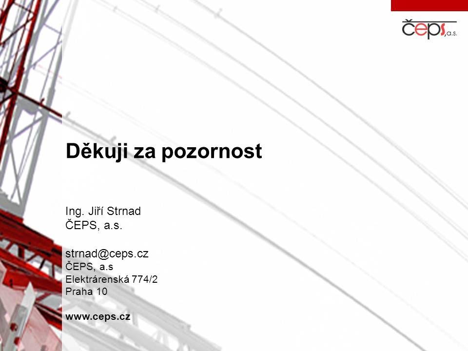 Děkuji za pozornost Ing. Jiří Strnad ČEPS, a.s. strnad@ceps.cz